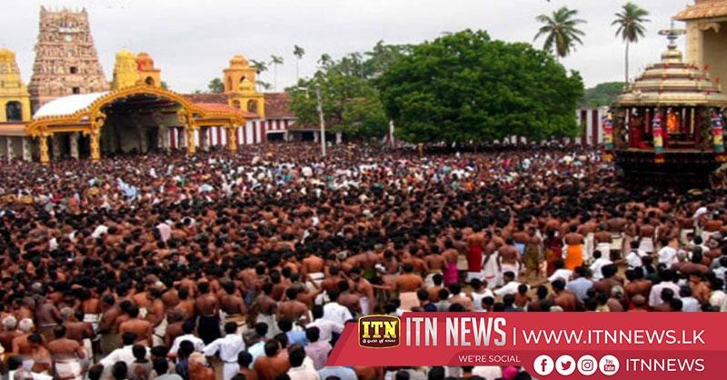 யாழ் நல்லூர் கந்தசுவாமி கோயிலில் வருடாந்த மகோற்சவம் நாளை