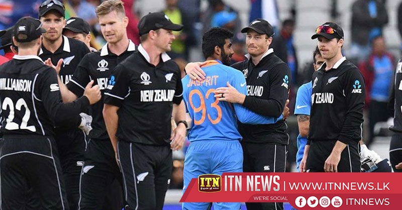 New Zealand beat India to reach World Cup final
