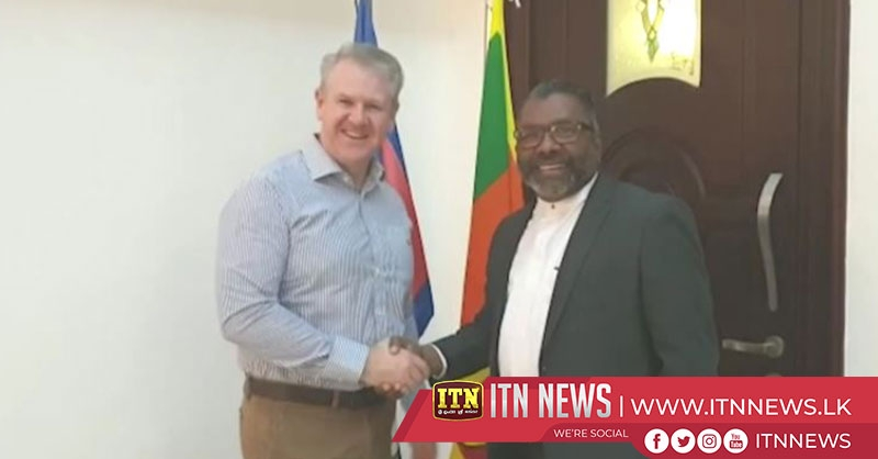 The Australian High Commissioner calls on Governor of Northern Province