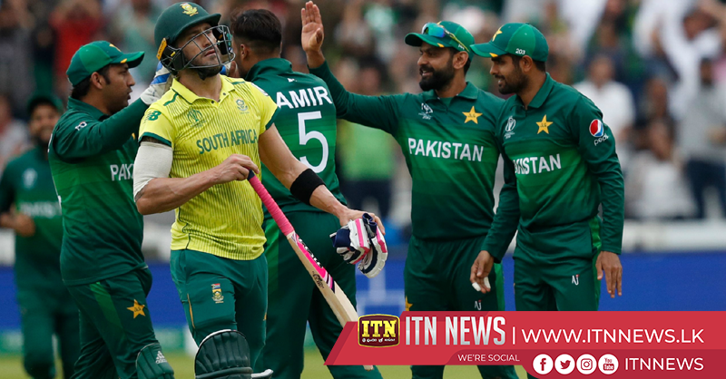 Pakistan beat South Africa in Cricket World Cup at Lord's