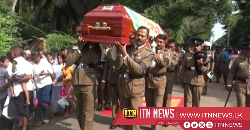 Final rites of three police officers held