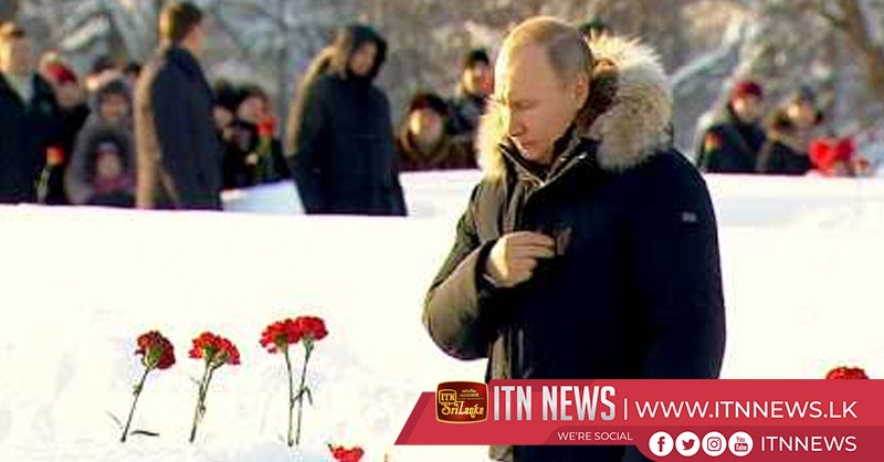 Putin pays tribute to victims of World War Two Leningrad siege