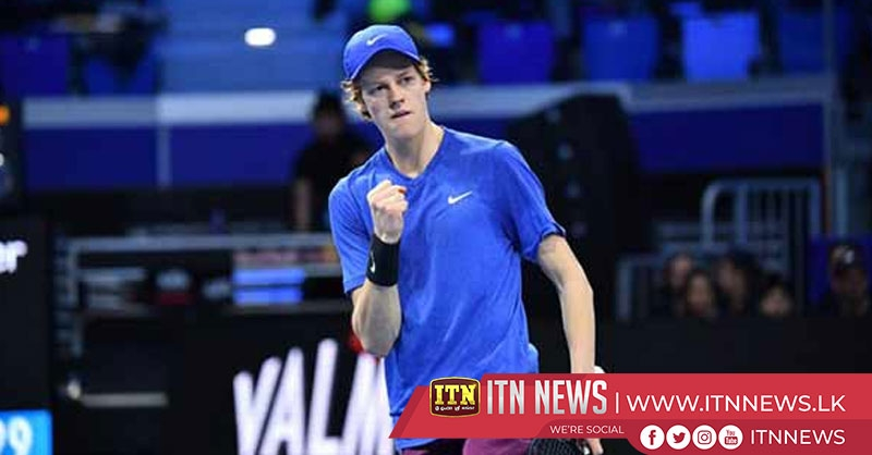 Sinner the winner in Next Gen ATP Finals championship match