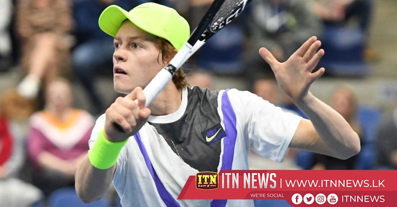 Jannik Sinner is the first man to reach the final four in Milan