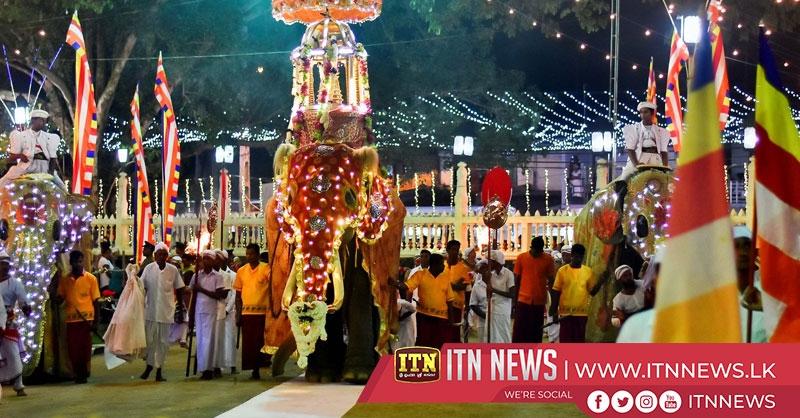The final Randoli Perahera of the annual Sabaragamuwa Maha Saman Devalaya held last night