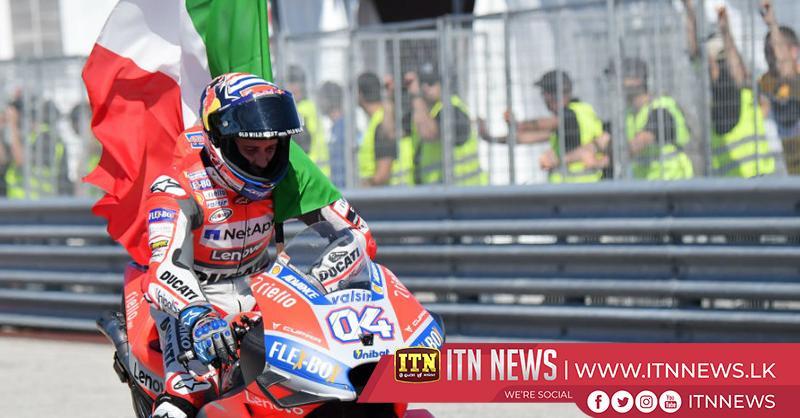 Dovizioso wins San Marino GP for Ducati, Marquez extends overall lead