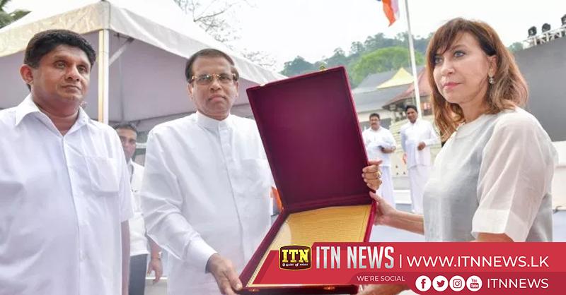 Thripitakabhivandana national religious ceremony held