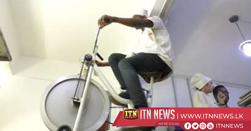Gearing up for an eco future – Ivory Coast chocolatiers use bike to grind beans